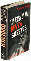 Books:Mystery & Detective Fiction, Anthony Boucher. The Case of the Seven Sneezes. New York:1942. First edition, presentation copy, inscribed....