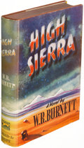 Books:Mystery & Detective Fiction, W. R. Burnett. High Sierra. New York: 1940. First edition,association copy, inscribed to Otto Penzler....