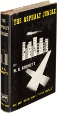 Books:Mystery & Detective Fiction, W. R. Burnett. The Asphalt Jungle. New York: 1949. First edition, sold with a Literary Guild reprint of Little Ca... (Total: 2 Items)