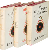 J. R. R. Tolkien. The Lord of the Rings Trilogy, comprising: The Fellowship of