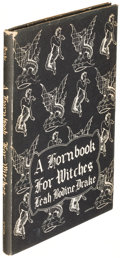 Books:Horror & Supernatural, Leah Bodine Drake. A Hornbook for Witches. Sauk City: 1950. First edition....