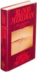 Books:Literature Pre-1900, Cormac McCarthy. Blood Meridian. New York: [1985]. First edition....