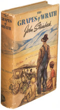Books:Literature 1900-up, John Steinbeck. The Grapes of Wrath. New York: [1939]. Firstedition....