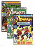 Modern Age (1980-Present):Superhero, Avengers Group (Marvel, 1981-91) Condition: Average NM+. Small boxlot includes Avengers (first series) #206, 207, 208, ... (Total:131 Comic Books Item)