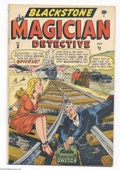 Golden Age (1938-1955):Crime, Blackstone, The Magician Detective #3 (EC, 1948) Condition: VG. Bob Oksner cover. Features the Blonde Phantom by Mike Sekows...
