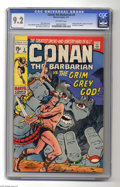 """Bronze Age (1970-1979):Superhero, Conan the Barbarian #3 (Marvel, 1971) CGC NM- 9.2 Off-white pages. Based on the story """"Spears of Clontarf"""" by Robert E. Howa..."""