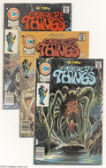 Bronze Age (1970-1979):Horror, Creepy Things Group (Charlton, 1975-76) Condition: Average NM-.This group includes #2 (with some of the earliest published ...(Total: 5 Comic Books Item)