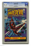 Silver Age (1956-1969):Superhero, Daredevil #39 (Marvel, 1968) CGC NM- 9.2 Cream to off-white pages. Gene Colan cover art. Colan and George Tuska interior art...