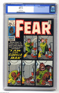 Bronze Age (1970-1979):Horror, Fear #5 (Marvel, 1971) CGC NM- 9.2 Off-white pages. Jack Kirbycover. There is a crack on the upper back and upper front of ...