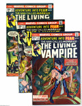 Bronze Age (1970-1979):Horror, Fear Group (Marvel, 1974-75) Condition: Average NM-. Five-issue lotof the Marvel horror title includes #21, 27, 28, 29, and... (Total:5 Comic Books Item)