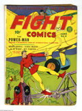 Golden Age (1938-1955):Superhero, Fight Comics #6 (Fiction House, 1940) Condition: VG. Bob Powell cover. Interior art by George Tuska, Charles Sultan, Klaus N...