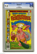 Bronze Age (1970-1979):Cartoon Character, Flintstones #3 (Marvel, 1978) CGC 9.8 White pages. Overstreet 2004NM- 9.2 value = $25. CGC census 1/05: 1 in NM/MT 9.8, non...