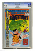 Bronze Age (1970-1979):Cartoon Character, Flintstones #5 (Marvel, 1978) CGC NM/MT 9.8 white pages. Overstreet2004 NM- 9.2 value = $25. CGC census 1/05: 1 in 9.8, non...