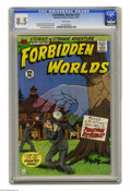 Silver Age (1956-1969):Horror, Forbidden Worlds #141 (ACG, 1967) CGC VF+ 8.5 White pages. BobJenny and Pete Costanza art. Kurt Schaffenburger cover. Overs...