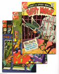 Silver Age (1956-1969):Horror, Ghost Manor Group (Charlton, 1968-74) Condition: Average VF+. Thisgroup consists of seven comics: #2, 4, 5 (has bottom stap...(Total: 7 Comic Books Item)