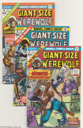 Bronze Age (1970-1979):Horror, Giant-Size Werewolf By Night #2-4 Group (Marvel, 1974-75)Condition: Average VF/NM. Three- issue lot of Marvel's horrortitl... (Total: 3 Comic Books Item)