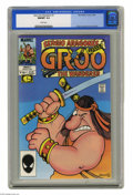 Modern Age (1980-Present):Humor, Groo the Wanderer #1 (Marvel, 1985) CGC NM/MT 9.8 White pages.Sergio Aragones' work graces the cover and interior art of th...