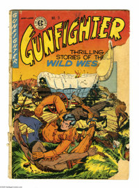 Gunfighter #9 and 10 Group (EC, 1949). This group contains issues #9 (PR condition) and 10 (VG+ condition). Al Feldstein...