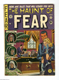 Golden Age (1938-1955):Horror, Haunt of Fear #6 (EC, 1951) Condition: VG+. Crypt Keeper begins.Johnny Craig cover. Ray Bradbury adaptation (unauthorized)....