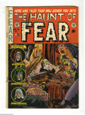 Golden Age (1938-1955):Horror, Haunt of Fear #15 (EC, 1952) Condition: VG. Graham Ingels cover.Ingels, George Evans, Jack Kamen, and Jack Davis art. Overs...