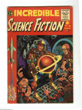 Golden Age (1938-1955):Science Fiction, Incredible Science Fiction #30 and 31 Group (EC, 1955). This groupcontains issues #30 (VG+ condition) and 31 (GD/VG conditi...(Total: 2 Comic Books Item)