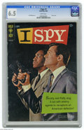 Silver Age (1956-1969):Mystery, I Spy #1 (Gold Key, 1966) CGC FN+ 6.5 White pages. Photo coverfeaturing Robert Culp and Bill Cosby. Al McWilliams art. Over...