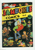 Golden Age (1938-1955):Funny Animal, Jamboree Comics #1 (Round, 1946) Condition: FN/VF. First issue ofthe short-lived Golden Age humor series. Overstreet FN 6.0...
