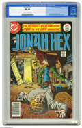 Bronze Age (1970-1979):Western, Jonah Hex #1 (DC, 1977) CGC NM 9.4 Off-white to white pages. Jose Garcia-Lopez cover and art. Overstreet 2004 NM- 9.2 value ...