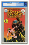 Bronze Age (1970-1979):Miscellaneous, Kong the Untamed #1 (DC, 1975) CGC NM 9.4 Off-white pages. Firstappearance of Kong. Bernie Wrightson cover. Overstreet 2004...