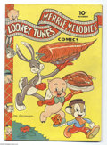 Golden Age (1938-1955):Funny Animal, Looney Tunes and Merrie Melodies Comics #14 (Dell, 1942) Condition:VG/FN. Leon Schlesinger cover. Overstreet 2004 VG 4.0 va...