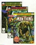 Bronze Age (1970-1979):Horror, Man-Thing Group (Marvel, 1974-80) Condition: Average VF/NM. Thisgroup includes #1, 11, 17, 20, 22 (the last issue) of the o...(Total: 12 Comic Books Item)
