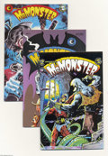 Modern Age (1980-Present):Miscellaneous, Mr. Monster Group (Eclipse, 1985-92) Condition: Average NM-. This group includes #1, 2 (Dave Stevens cover), 3, 4, 5, 6, 7, ... (Total: 27 Comic Books Item)