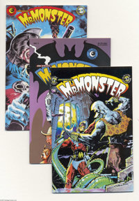 Mr. Monster Group (Eclipse, 1985-92) Condition: Average NM-. This group includes #1, 2 (Dave Stevens cover), 3, 4, 5, 6...