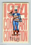 Bronze Age (1970-1979):Miscellaneous, New York Comic Art Convention #1974 (Phil Seuling, 1974)Condition:. To be a comic book fan in New York during the 1970smea...