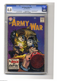 Our Army at War #81 (DC, 1962) CGC VG 4.0 Cream to off-white pages. Sgt. Rocky of Easy Co. appears. Last Sgt. Rock proto...