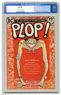 Modern Age (1980-Present):Humor, Plop! #1 (DC, 1973) CGC NM 9.4 Off-white to white pages. BasilWolverton cover. Bernie Wrightson, George Evans, and Sergio A...