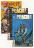 Modern Age (1980-Present):Horror, Preacher #11-65 Group (DC, 1996-2000) Condition: Average NM+. Thisgroup includes # 11, 12, 13, 14, 15, 16, 17, 18, 19, 20, ...(Total: 55 Comic Books Item)