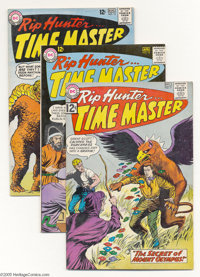 Rip Hunter Time Master Group (DC, 1962-65) Condition: Average VF-. Seven-issue lot of the DC time master's adventure ser...