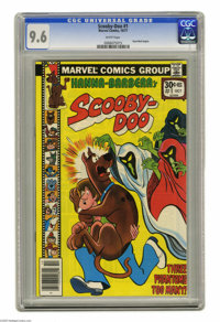 Scooby-Doo #1 (Marvel, 1977) CGC NM+ 9.6 White pages. Dyno-Mutt begins. Overstreet 2004 NM- 9.2 value = $30. CGC census...