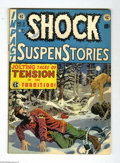 Golden Age (1938-1955):Horror, Shock SuspenStories #3 (EC, 1952) Condition: FN-. Wally Wood cover.Wood, Jack Davis, Jack Kamen, and Joe Orlando art. Overs...