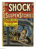 Golden Age (1938-1955):Horror, Shock SuspenStories #4 and 9 Group (EC, 1952-53) Condition: GD/VG.This group contains issues #4 and 9. Issue #4 was used in...(Total: 2 Comic Books Item)