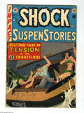 Golden Age (1938-1955):Horror, Shock SuspenStories #11 and 14 Group (EC, 1953-54) Condition:. Thisgroup contains issues #11 (VG condition) and 14 (GD+ con... (Total:2 Comic Books Item)