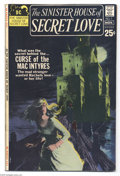 Bronze Age (1970-1979):Romance, Sinister House of Secret Love #1 (DC, 1971) Condition: VG+.Overstreet 2004 VG 4.0 value = $32....
