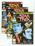 Modern Age (1980-Present):Science Fiction, Star Trek #1-18 Group (Marvel, 1980-82) Condition: Average NM. Thisgroup consists of 20 comics: #1 (movie adaptation) (thre... (Total:20 Comic Books Item)