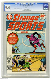 Strange Sports Stories #1 (DC, 1973) CGC NM 9.4 White pages. Curt Swan and Dick Giordano art. Overstreet 2004 NM- 9.2 va...