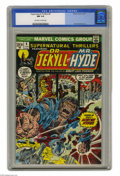 Bronze Age (1970-1979):Horror, Supernatural Thrillers #4 (Marvel, 1973) CGC NM 9.4 Off-white towhite pages. This issue of the short-lived horror title fea...