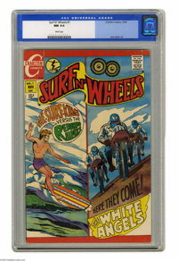 Surf N' Wheels #1 (Charlton, 1969) CGC NM 9.4 White pages. Jack Keller art. This is the highest grade given to this issu...
