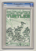 Magazines:Superhero, Teenage Mutant Ninja Turtles #4 (Mirage Studios, 1985) CGC NM/MT9.8 White pages. Story, cover, and art by Kevin Eastman and...