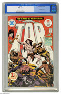 Bronze Age (1970-1979):Miscellaneous, Tor #1 (DC, 1975) CGC NM+ 9.6 Off-white to white pages. New originof Tor. Joe Kubert cover and art. This is the highest CGC...