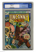 Golden Age (1938-1955):Horror, Uncanny Tales #1 (Atlas, 1952) CGC NM- 9.2 Off-white to whitepages. Reprints issue #9 from the original Atlas Comics series...